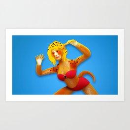 Cheetara Art Print