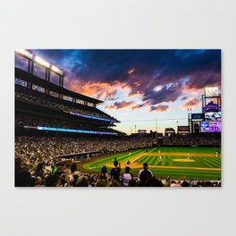 Coors Field Canvas Print
