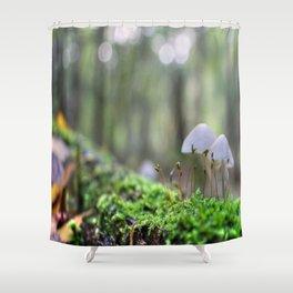 Macro World Shower Curtain