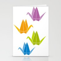 origami Stationery Cards featuring ORIGAMI by taichi_k