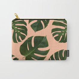 Coral Palms Carry-All Pouch