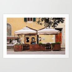 Piazza Santo Spirito  Art Print