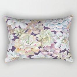 Succulent Garden #25 Rectangular Pillow