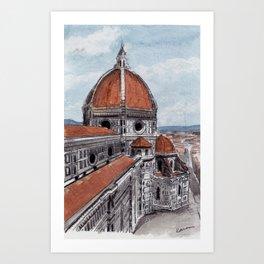 The Duomo-Florence Art Print
