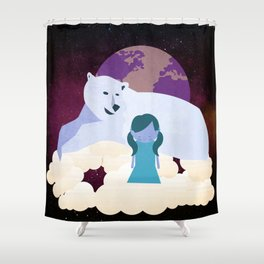 Homesickness 6 Shower Curtain