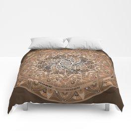 Terra Mandala Comforters