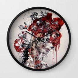 Queen of Skull II Wall Clock