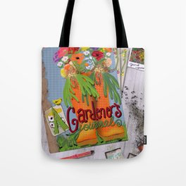 A Gardener's Journal Tote Bag