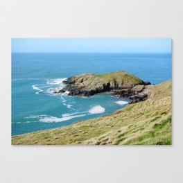 Dinas Bach II (Little Fort) - North Wales Coast Canvas Print