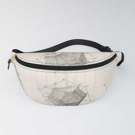 Crystal Geometry Fanny Pack