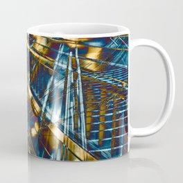 Golden City Lines Coffee Mug
