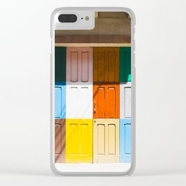 Malta Door Clear iPhone Case