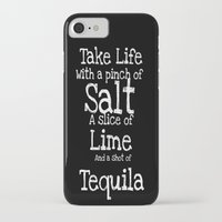 tequila iPhone & iPod Cases featuring Tequila by  Alexia Miles photography