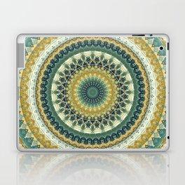 Happy Garden Mandala Laptop & iPad Skin