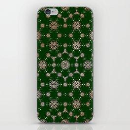 archaic pattern. crop circle. sacred geometry iPhone Skin