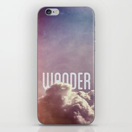 Wander (vertical) iPhone Skin