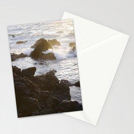 Ocean & Lava Rocks Stationery Cards