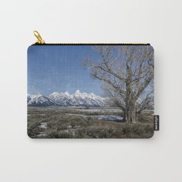 Grand Tetons from Gros Ventre Carry-All Pouch