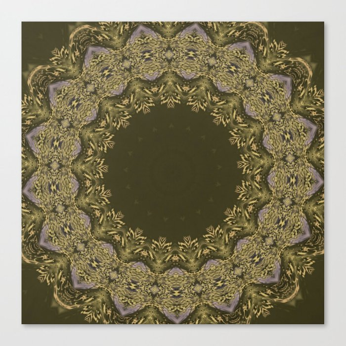 Better than Yours Colormix Mandala 2 Canvas Print