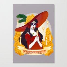 La Catrina: Resurreccion Canvas Print