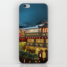 Tea house Juifen iPhone Skin
