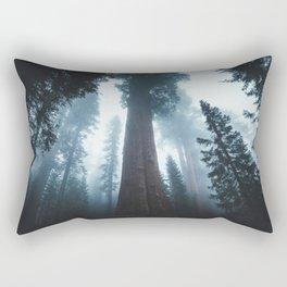 General Sherman in the Mist Rectangular Pillow