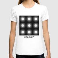 illusion T-shirts featuring Illusion by DagmarMarina