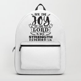 Nehemiah 8:10 Backpack