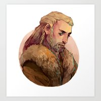 fili Art Prints featuring Fili by kitsu-neko