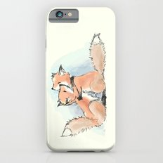 foxes in love Slim Case iPhone 6s