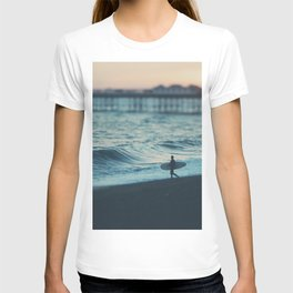 the lone surfer ... T-shirt