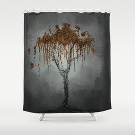 Lonely World Shower Curtain