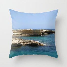 Rocks Throw Pillow