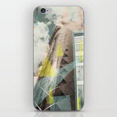 Blue & crystal iPhone & iPod Skin