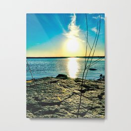 The Smoking Sun  Metal Print
