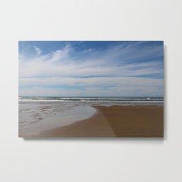 Where Sky Meets Sea Metal Print