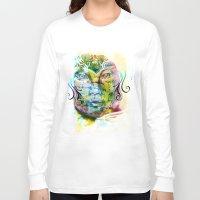 fairy tale Long Sleeve T-shirts featuring Fairy Tale by Irmak Akcadogan