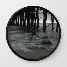 Mystic Pier Wall Clock