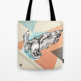 Owl McFly by carographic Tote Bag