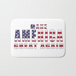 Make America Great Again - 2016 Campaign Slogan Bath Mat