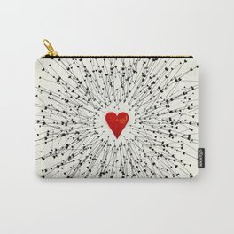 Heart&Arrows Carry-All Pouch