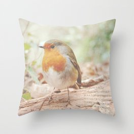 You are more valuable Throw Pillow
