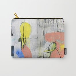 Abstract Mixed Media Compositon V.3.5 Carry-All Pouch