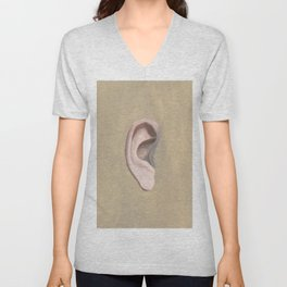 Listen while you work Unisex V-Neck