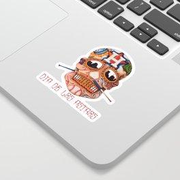 Dia De Los Astros Sticker