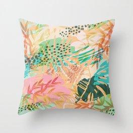 Tropical Mixup Throw Pillow