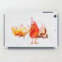 chicken iPad Cases featuring Chicken by Ingo H. Klett