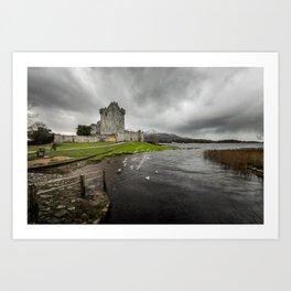 Ross Castle, Killarney, Ireland Art Print