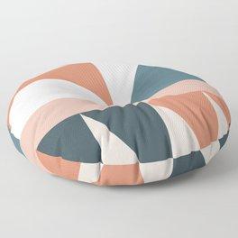Cirque 03 Abstract Geometric Floor Pillow