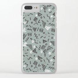 Screech Clear iPhone Case